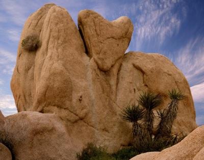 Coeur dans la pierre