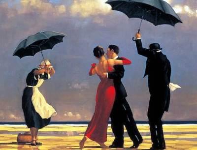 L'amour danse entre l'extase de l'union