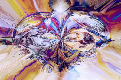 Diamant en coeur de Linda Sannuti