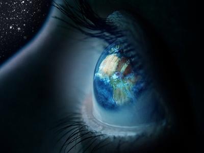 L'oeil qui regarde