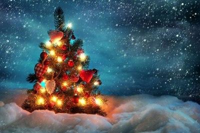 Sapin de Noël d'amour