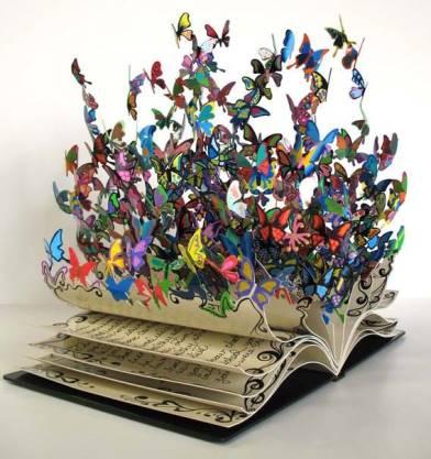 Poète et palette papillon