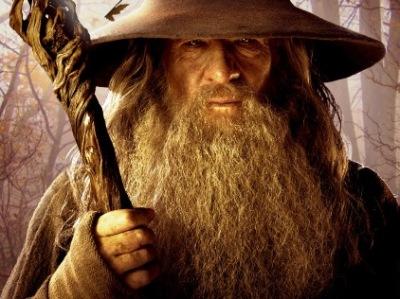 Gandalf en forêt