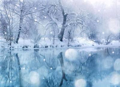 Décor neige magie