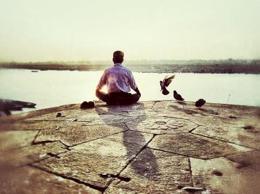 Rejet méditation homme