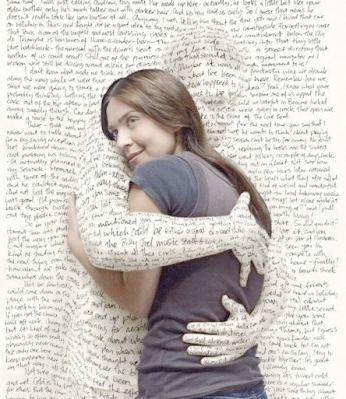 Amour de soi mots enveloppent