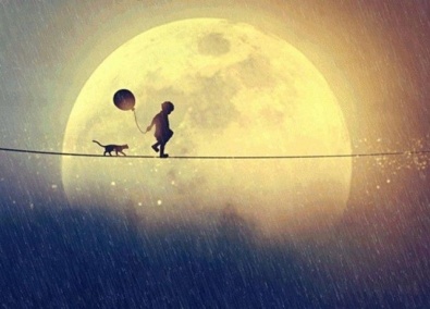 Amour inconditionnel tightrope