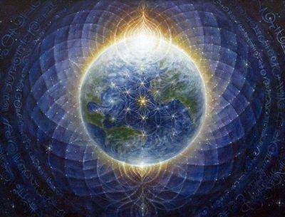 Planète terre bleue